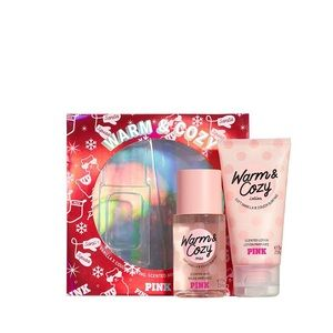 Victoria's Secret Pink Warm & Cozy Gift Set